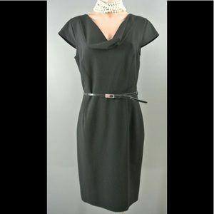 NWOT CALVIN KLEIN Cap Sleeve Sheath Career Dress